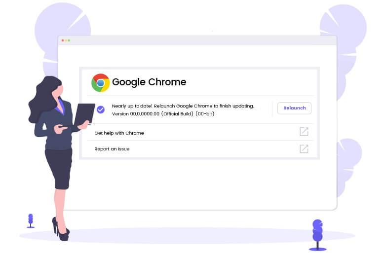 Google Chrome updates for user