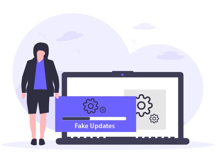 avoid fake software updates
