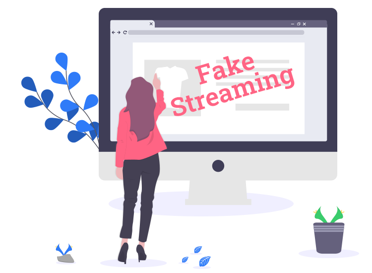 how to spot a fake streming website