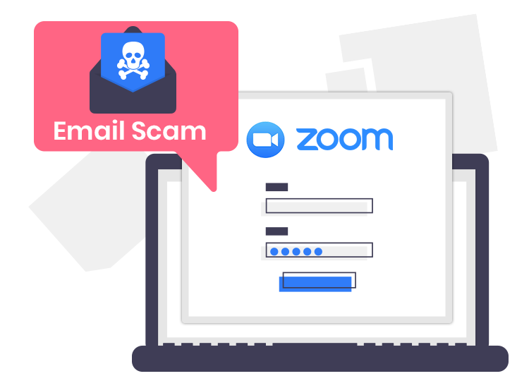 Zoom email scam