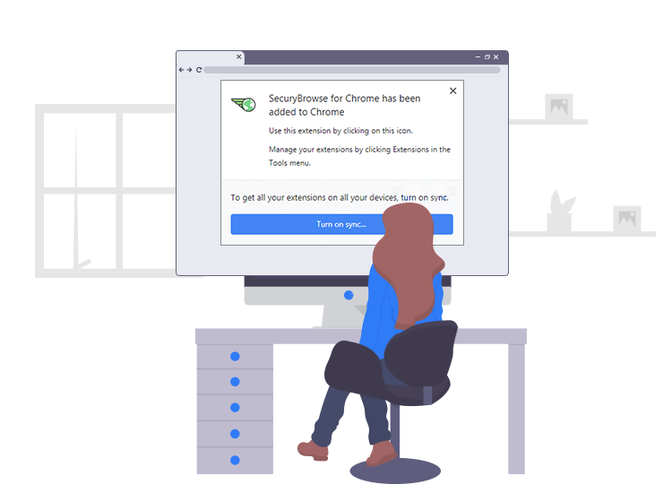 remove SecuryBrowse browser hijacker