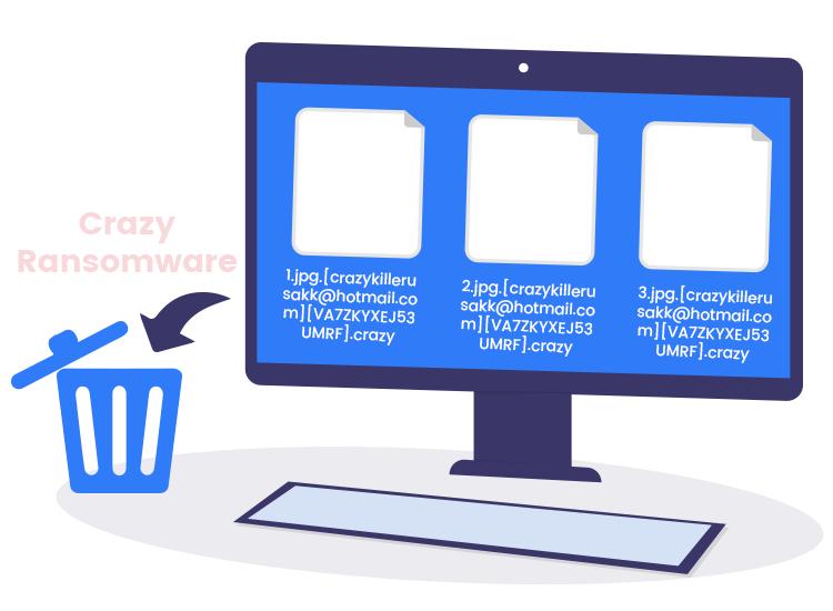 remove 'Crazy' ransomware