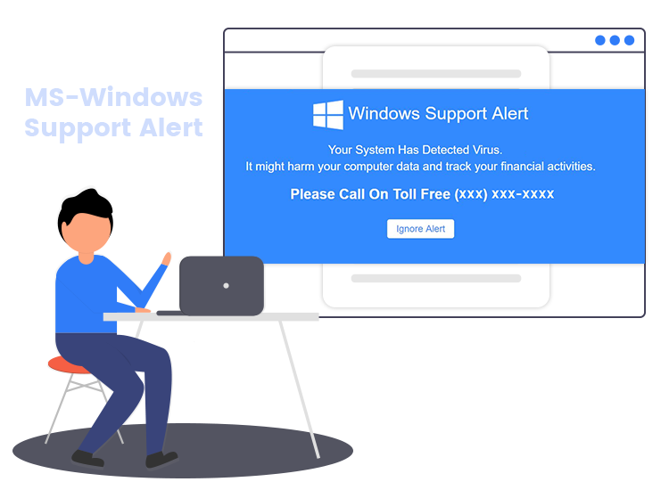 remove MS-Windows Support Alert