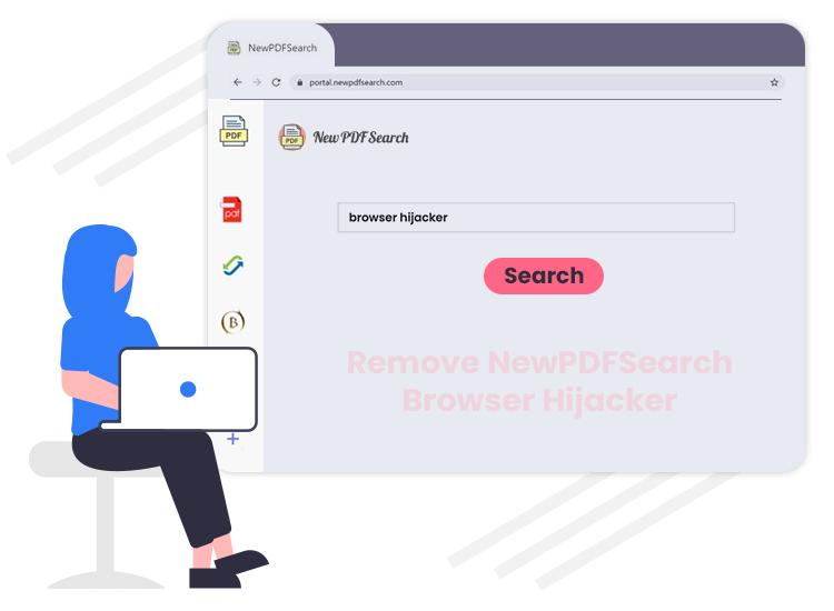 NewPDFSearch browser hijacker