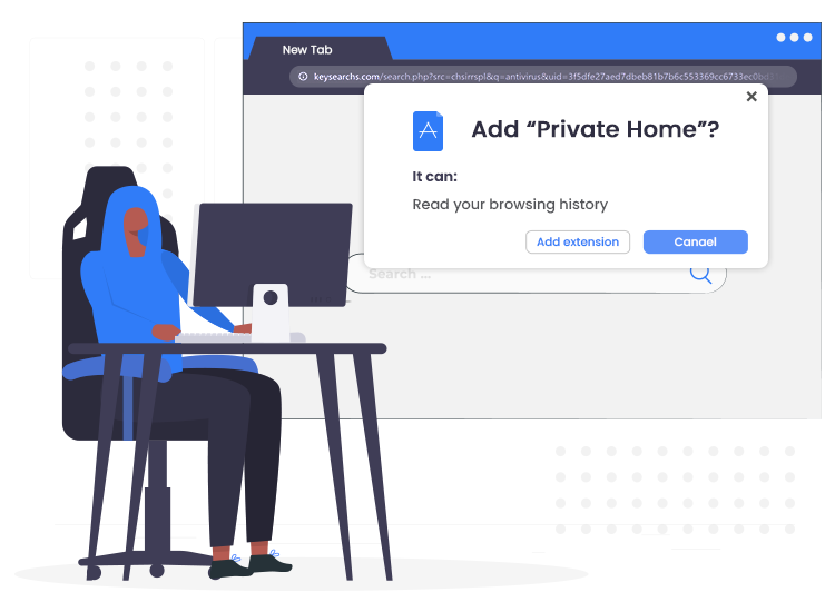 Private-Home-Browser-Hijacker