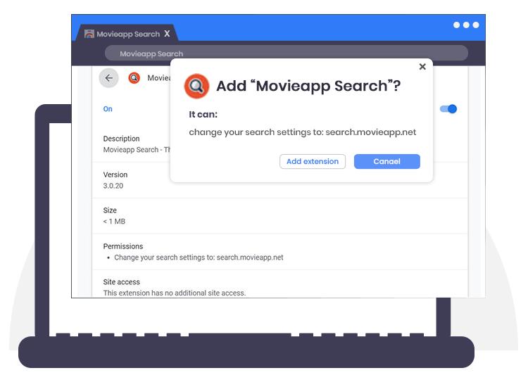 Movieapp-Search-Browser-Hijacker