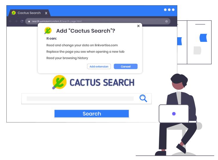 Remove-Cactus-Search-Browser-Hijacker