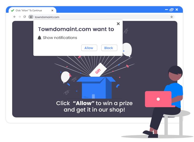 Remove-Towndomaint.com-Pop-up-Ads